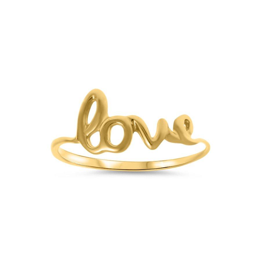 622b63c464d5a5 Złoty Pierścionek 585 Love Złoto 585 Biżuteria Pierścionki